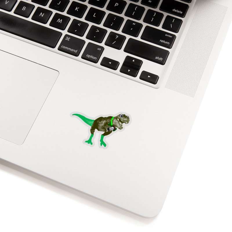 Lulzard the Lulzilla Lizard Accessories Sticker by PGMercher  - A Pretty Good Merch Shop