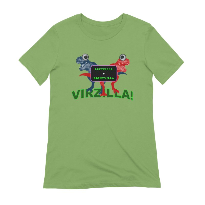 Virzilla Women's Extra Soft T-Shirt by PGMercher  - A Pretty Good Merch Shop