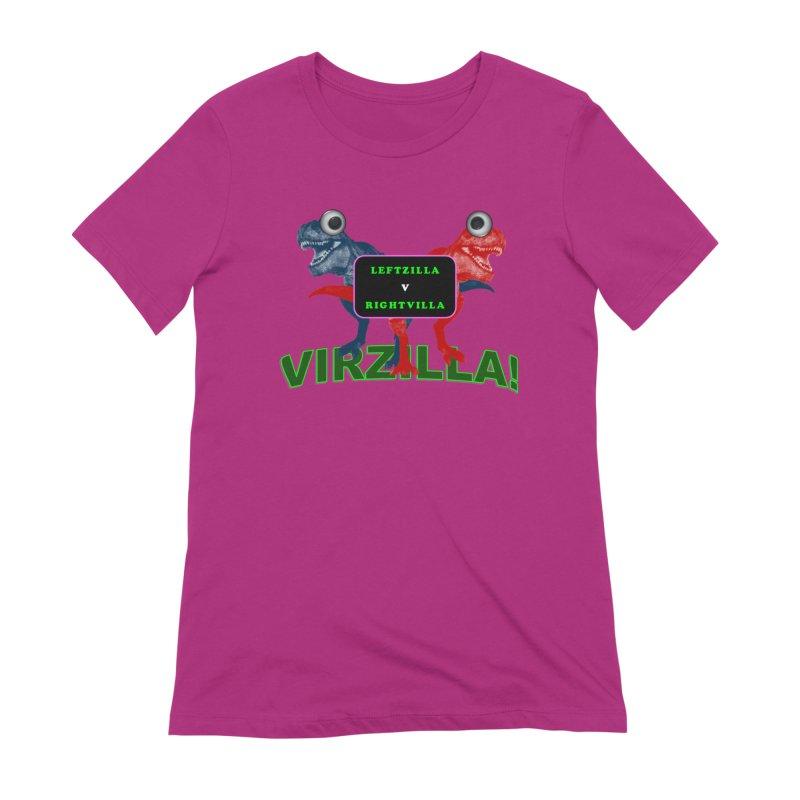 Virzilla Women's Extra Soft T-Shirt by PGMercher  - A Pretty Good Merch Shop