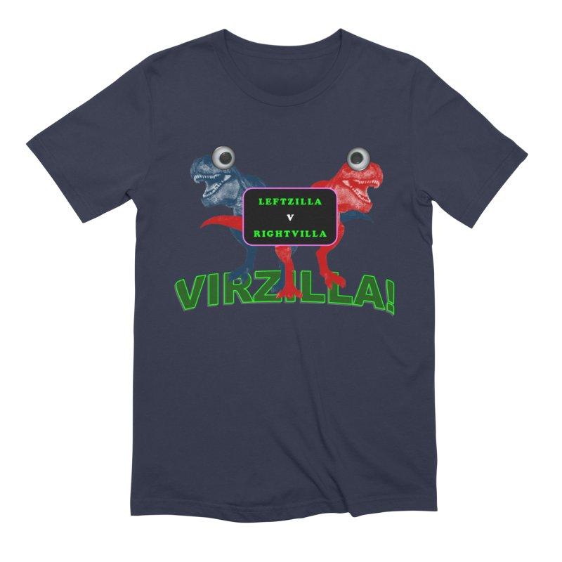 Virzilla Men's Extra Soft T-Shirt by PGMercher  - A Pretty Good Merch Shop