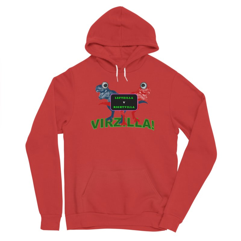 Virzilla Men's Pullover Hoody by PGMercher  - A Pretty Good Merch Shop