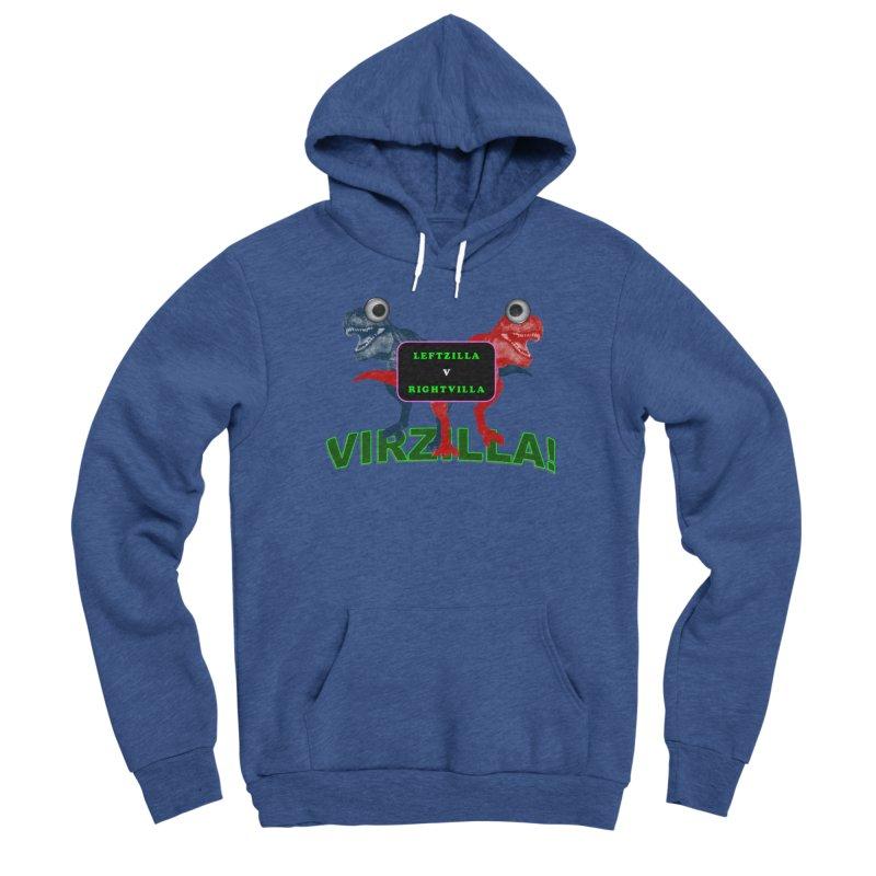 Virzilla Men's Pullover Hoody by PGMercher  - A Pretty Good Merch Shop