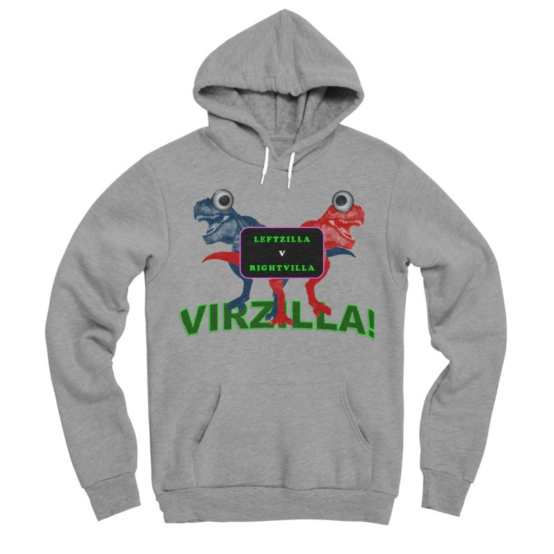 Virzilla Women's Sponge Fleece Pullover Hoody by PGMercher  - A Pretty Good Merch Shop