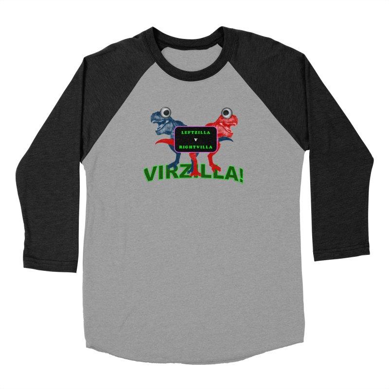 Virzilla Men's Longsleeve T-Shirt by PGMercher  - A Pretty Good Merch Shop