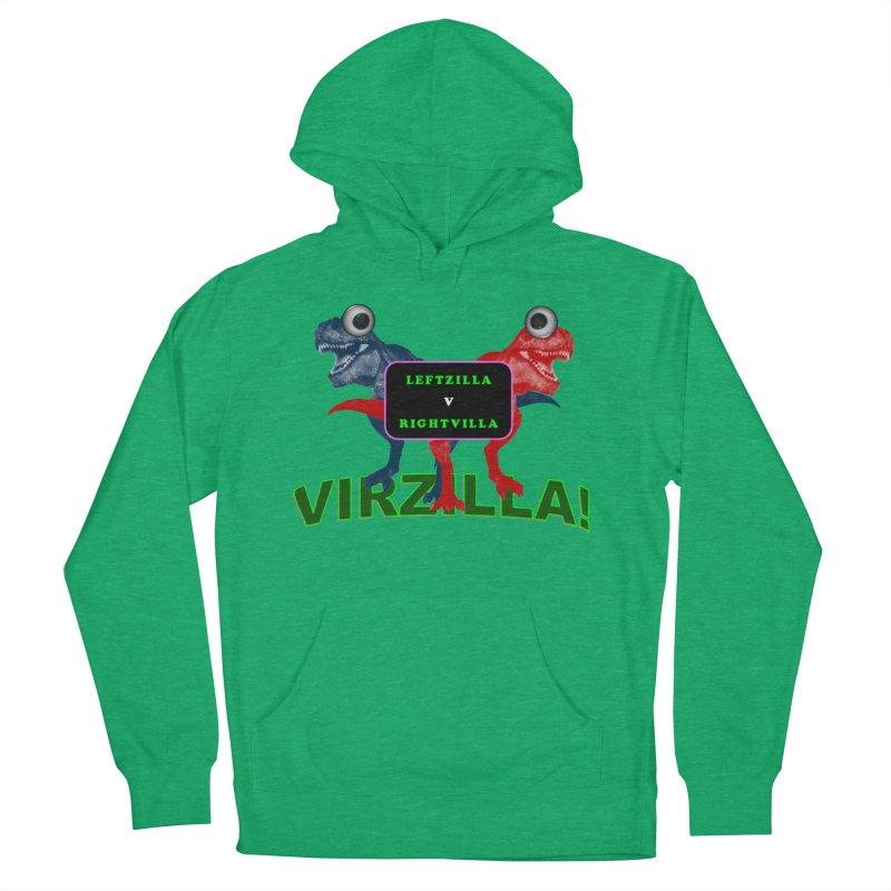 Virzilla Women's French Terry Pullover Hoody by PGMercher  - A Pretty Good Merch Shop