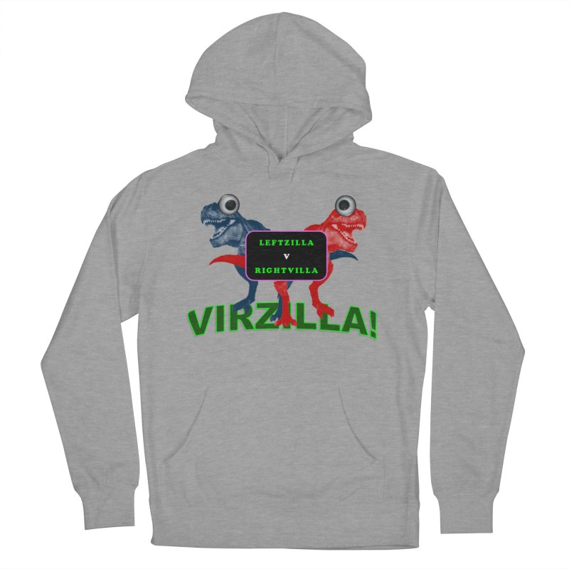 Virzilla Women's French Terry Pullover Hoody by PGMercher  - A Pretty Good Merch Shop