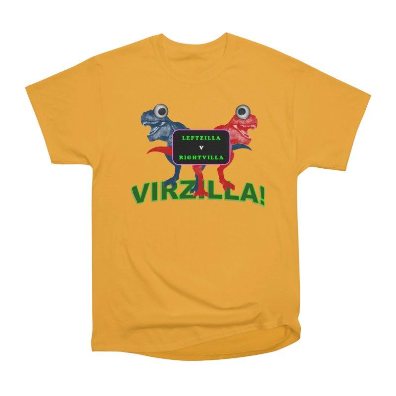Virzilla Women's Heavyweight Unisex T-Shirt by PGMercher  - A Pretty Good Merch Shop