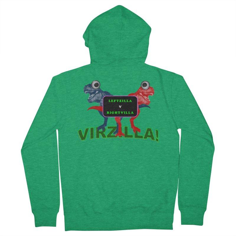 Virzilla Women's Zip-Up Hoody by PGMercher  - A Pretty Good Merch Shop