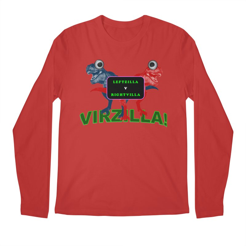 Virzilla Men's Longsleeve T-Shirt by PGMercher  - A Pretty Good Merch Shop