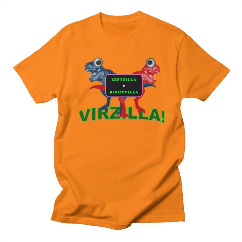 Virzilla Women's Regular Unisex T-Shirt by PGMercher  - A Pretty Good Merch Shop