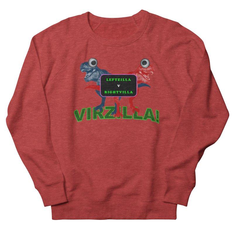 Virzilla Men's French Terry Sweatshirt by PGMercher  - A Pretty Good Merch Shop