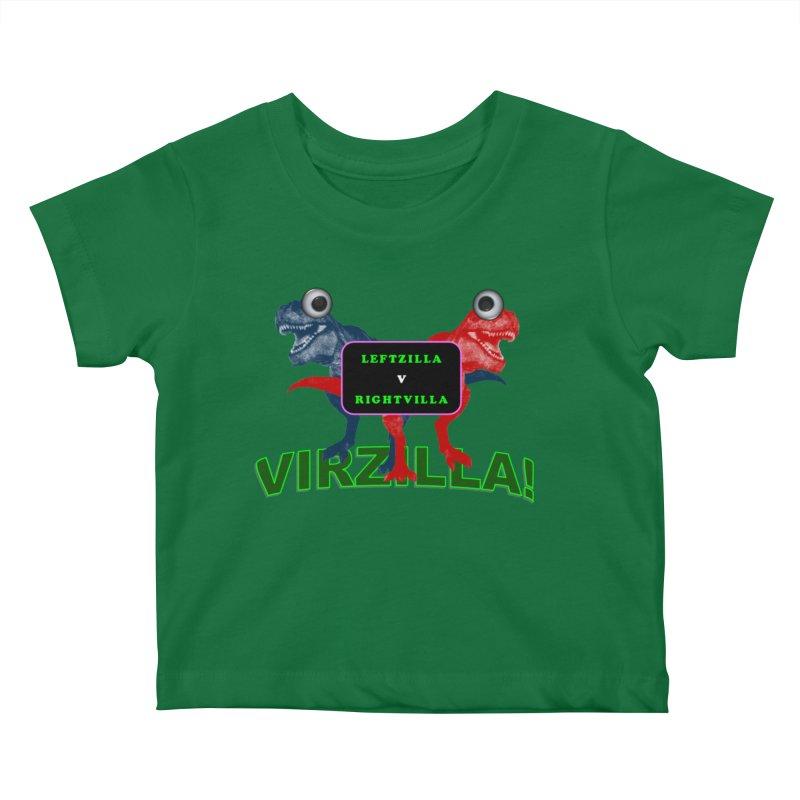 Virzilla Kids Baby T-Shirt by PGMercher  - A Pretty Good Merch Shop