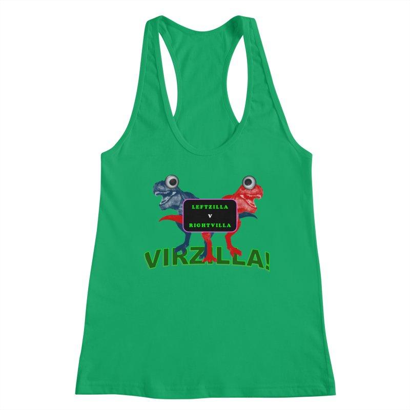 Virzilla Women's Tank by PGMercher  - A Pretty Good Merch Shop