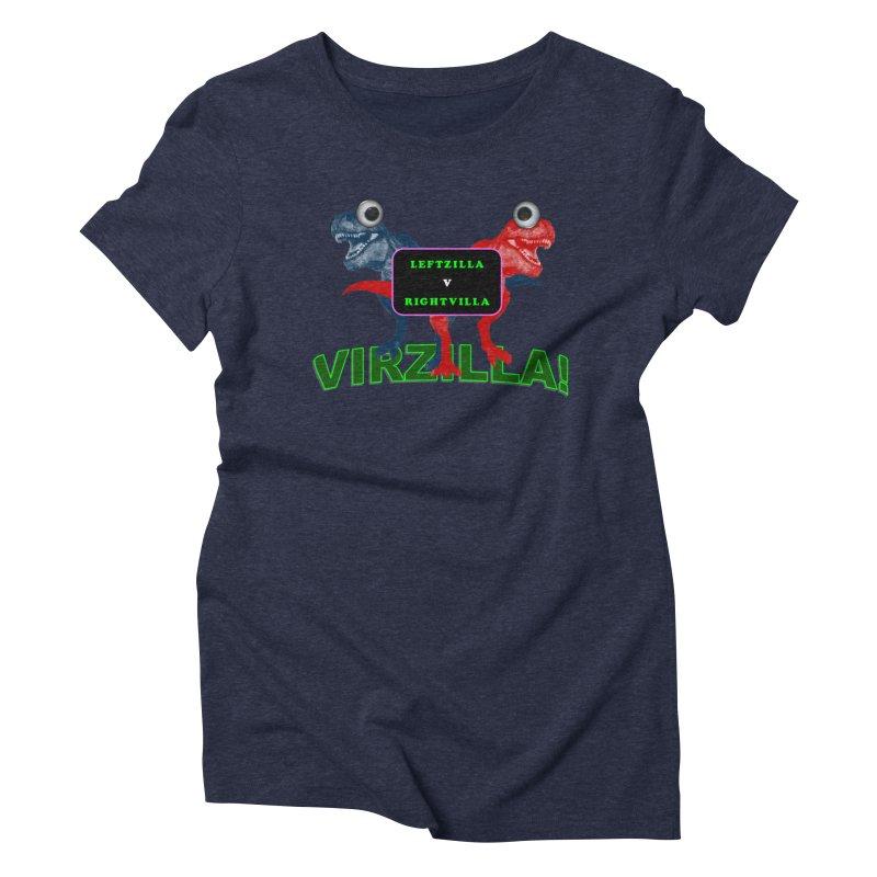 Virzilla Women's T-Shirt by PGMercher  - A Pretty Good Merch Shop