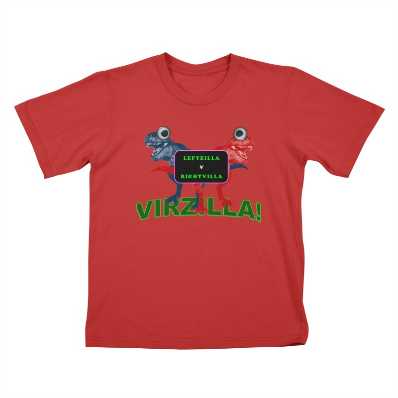 Virzilla Kids T-Shirt by PGMercher  - A Pretty Good Merch Shop