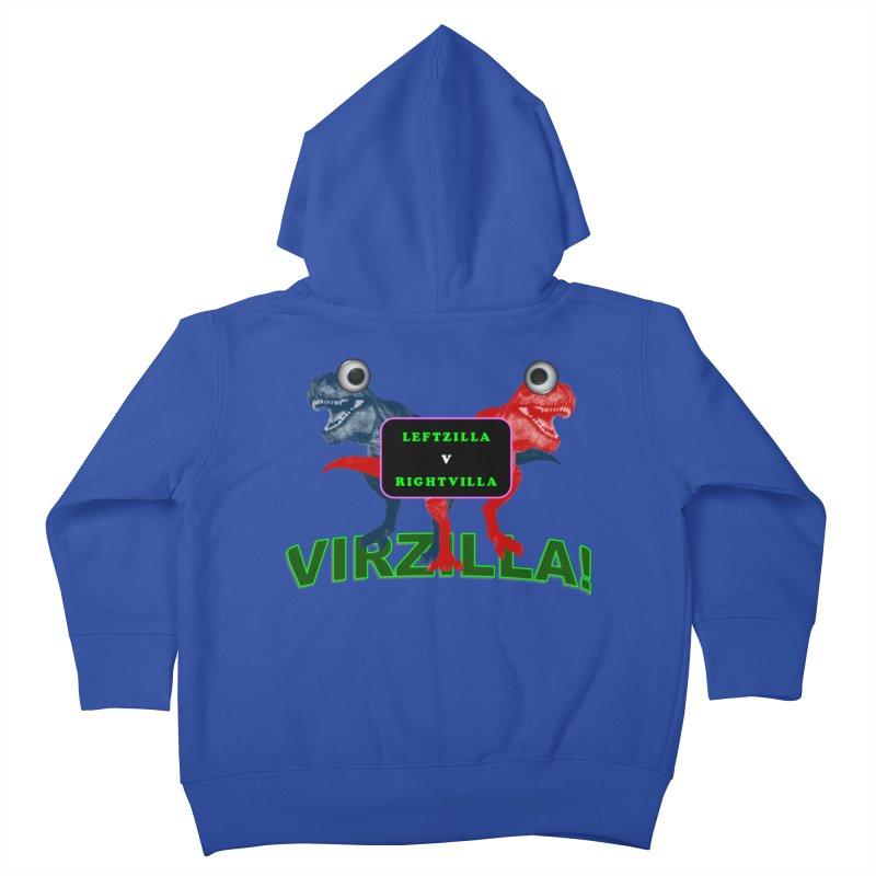 Virzilla Kids Toddler Zip-Up Hoody by PGMercher  - A Pretty Good Merch Shop
