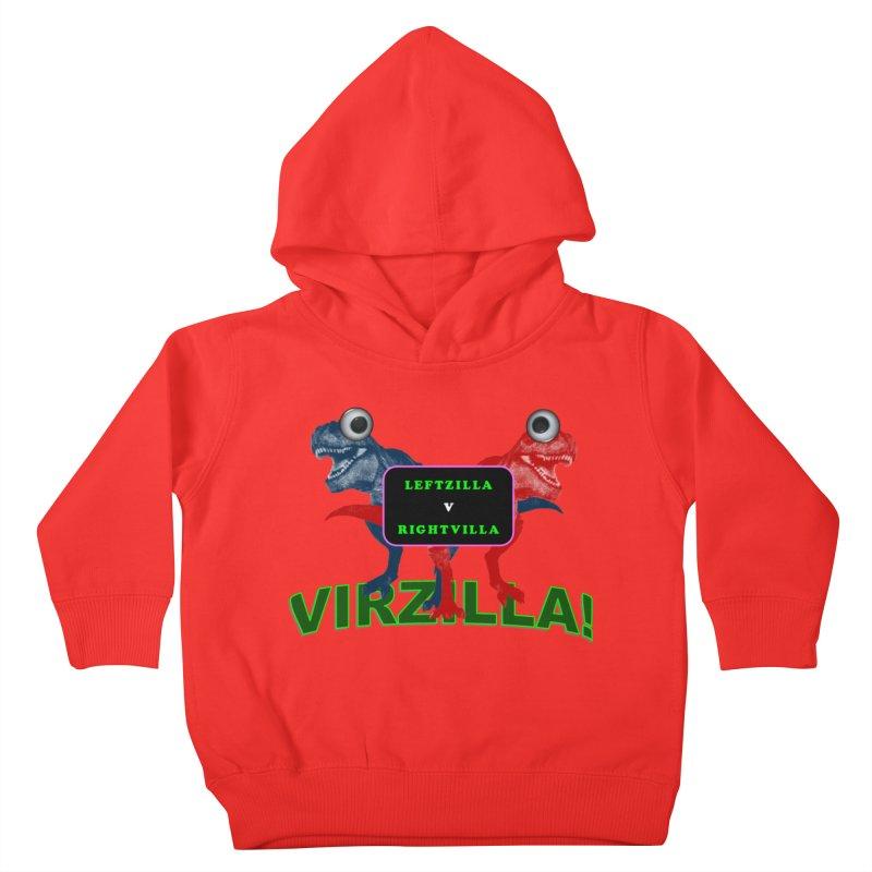 Virzilla Kids Toddler Pullover Hoody by PGMercher  - A Pretty Good Merch Shop