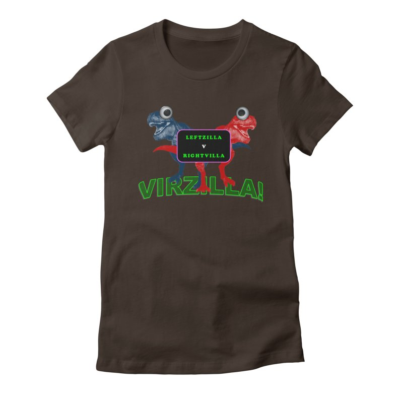 Virzilla Women's Fitted T-Shirt by PGMercher  - A Pretty Good Merch Shop