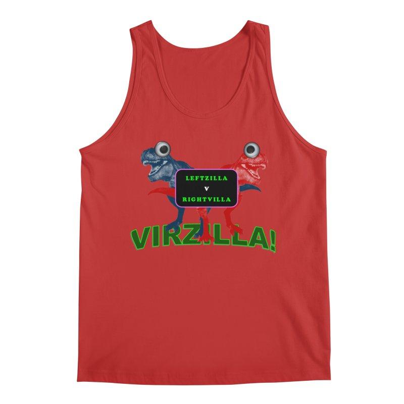 Virzilla Men's Regular Tank by PGMercher  - A Pretty Good Merch Shop