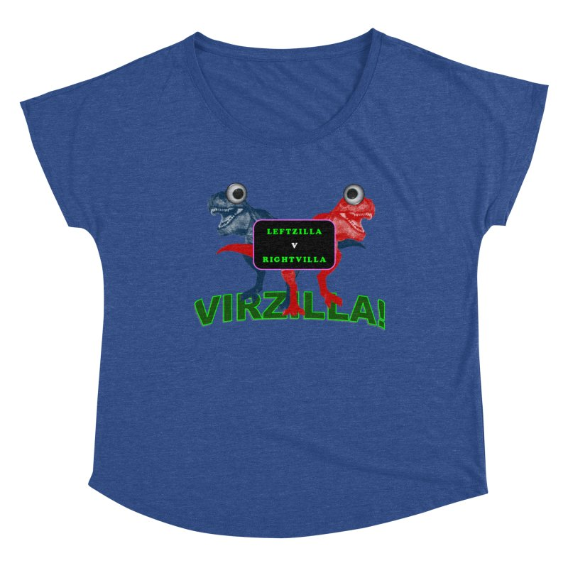 Virzilla Women's Scoop Neck by PGMercher  - A Pretty Good Merch Shop