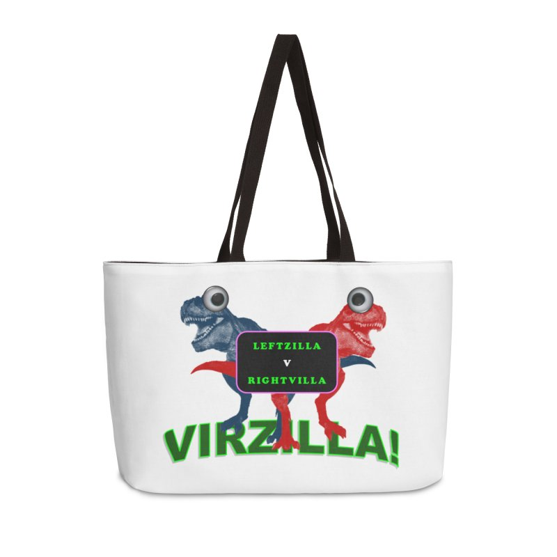 Virzilla Accessories Weekender Bag Bag by PGMercher  - A Pretty Good Merch Shop