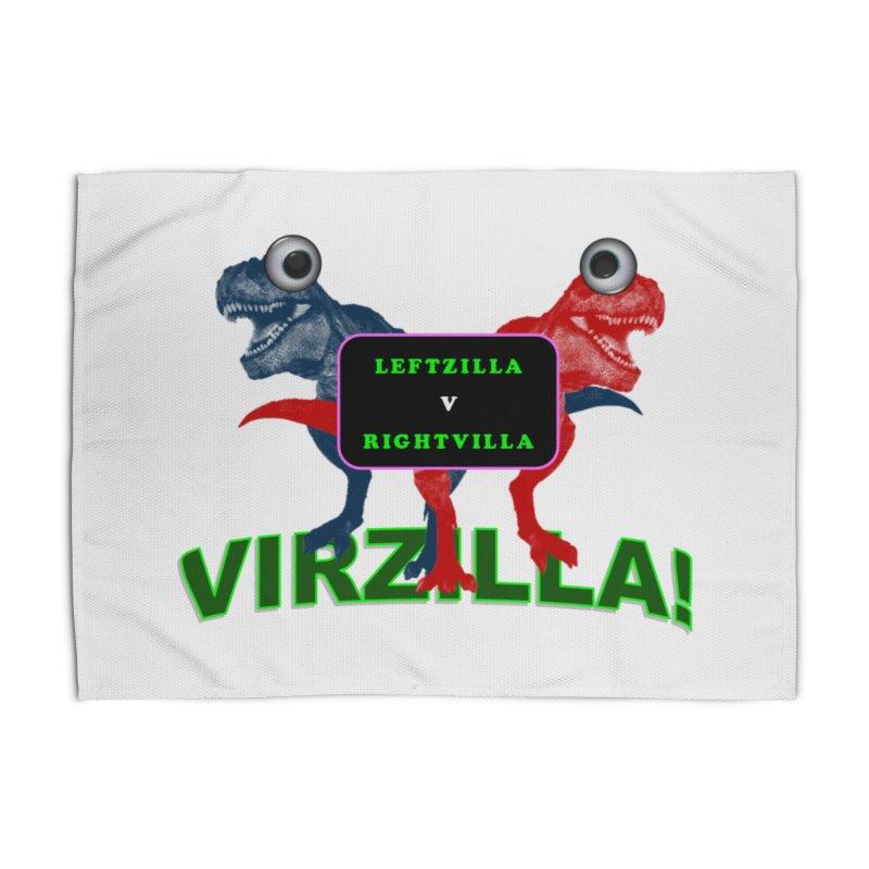 Virzilla Home Rug by PGMercher  - A Pretty Good Merch Shop