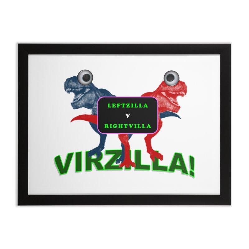Virzilla Home Framed Fine Art Print by PGMercher  - A Pretty Good Merch Shop
