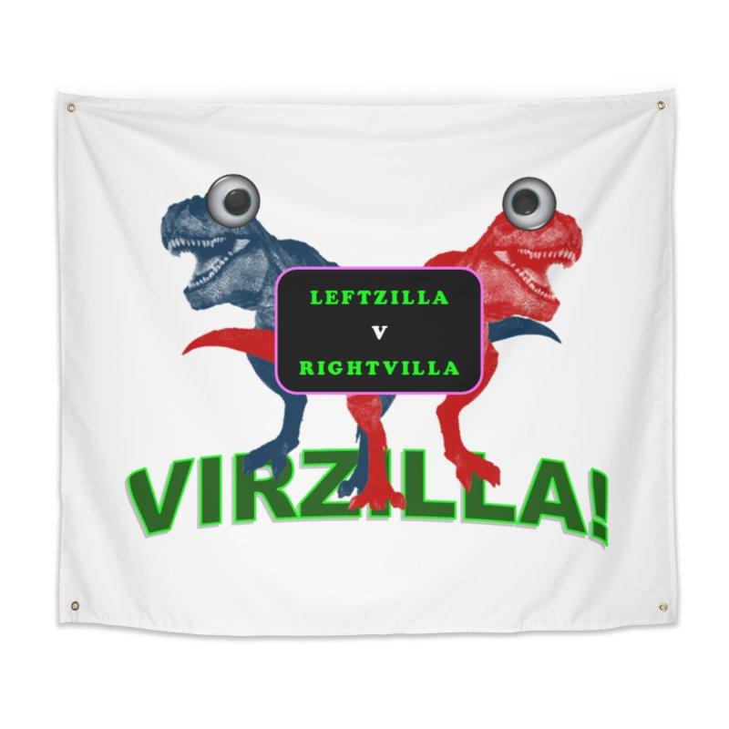 Virzilla Home Tapestry by PGMercher  - A Pretty Good Merch Shop
