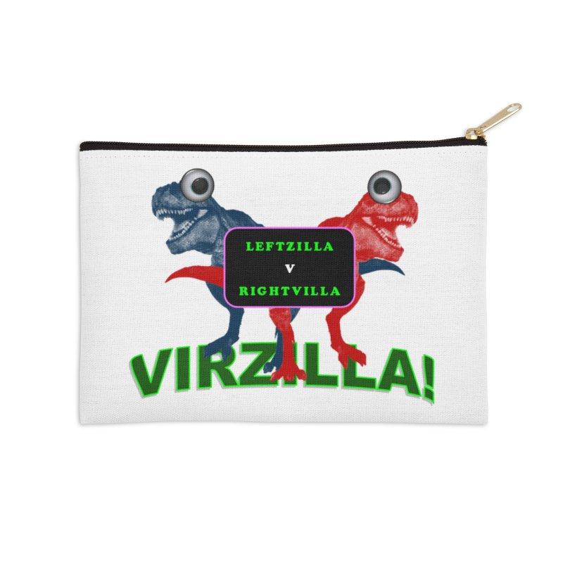 Virzilla Accessories Zip Pouch by PGMercher  - A Pretty Good Merch Shop