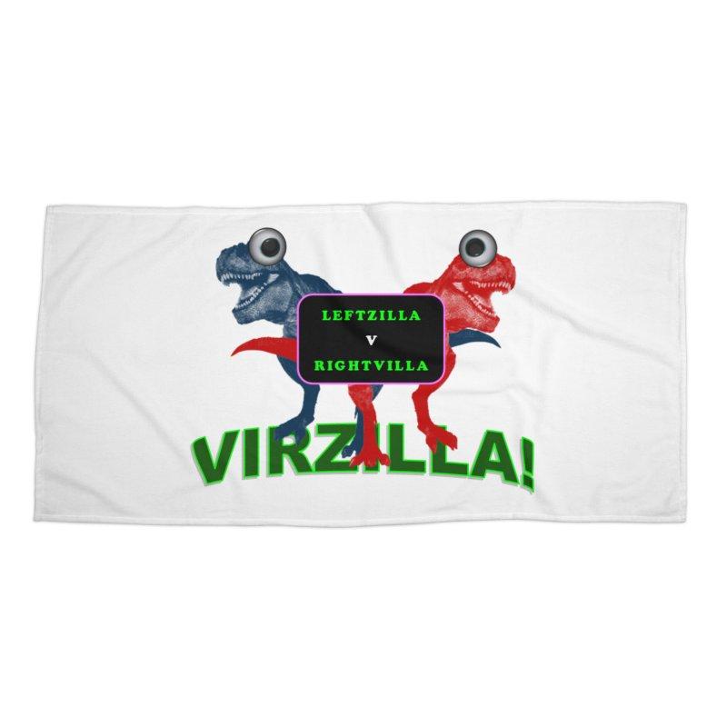 Virzilla Accessories Beach Towel by PGMercher  - A Pretty Good Merch Shop