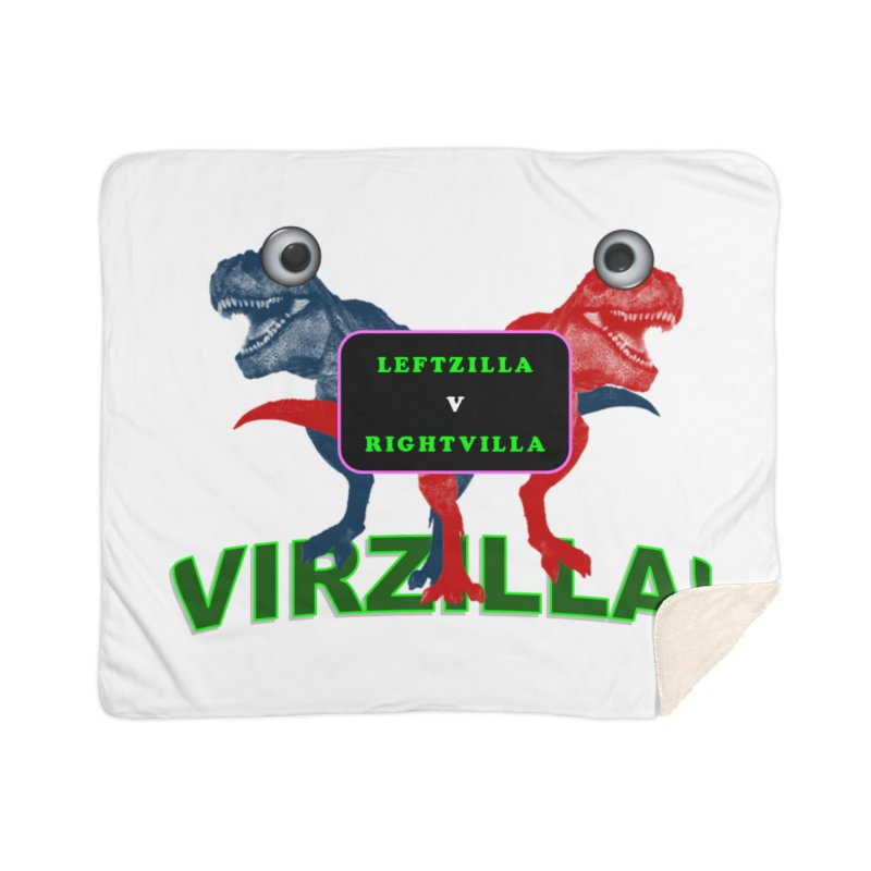 Virzilla Home Sherpa Blanket Blanket by PGMercher  - A Pretty Good Merch Shop