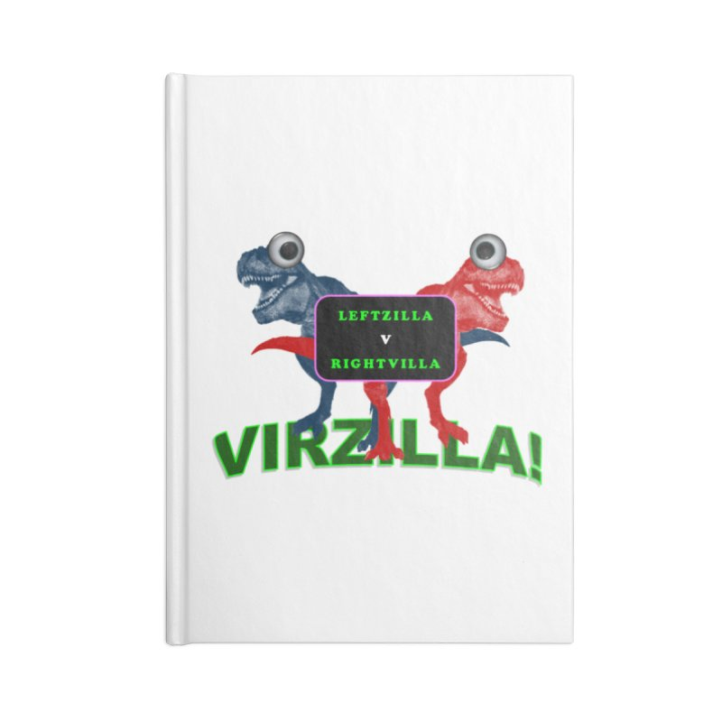 Virzilla Accessories Blank Journal Notebook by PGMercher  - A Pretty Good Merch Shop