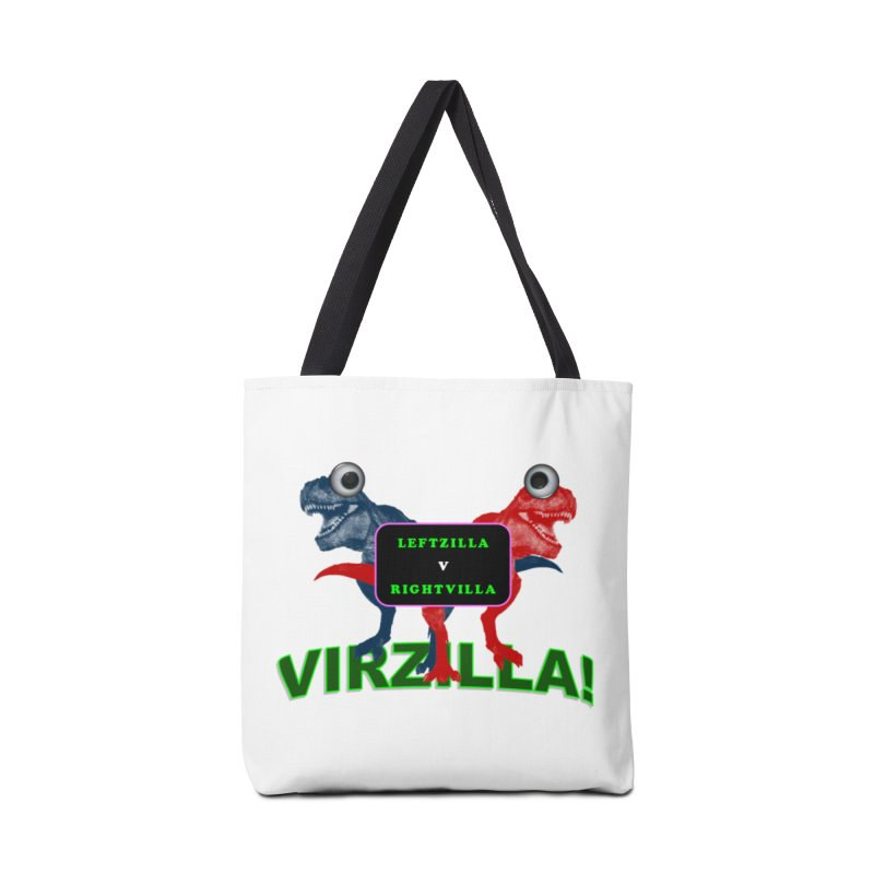 Virzilla Accessories Tote Bag Bag by PGMercher  - A Pretty Good Merch Shop
