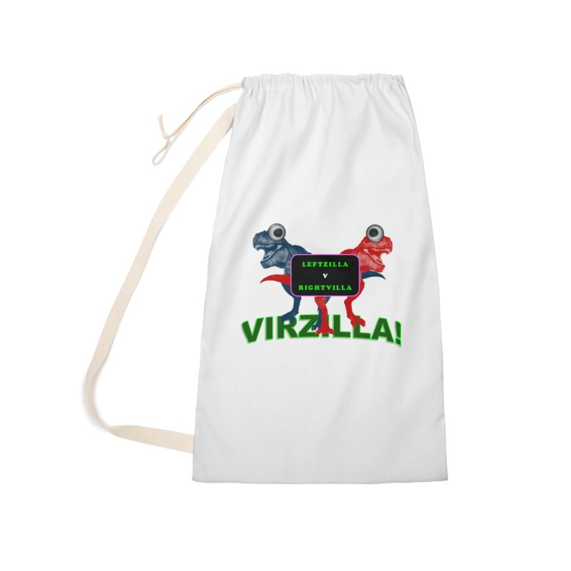 Virzilla Accessories Laundry Bag Bag by PGMercher  - A Pretty Good Merch Shop
