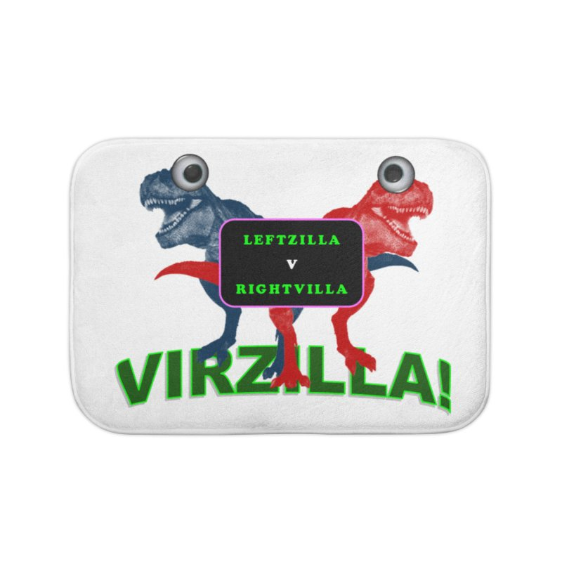 Virzilla Home Bath Mat by PGMercher  - A Pretty Good Merch Shop