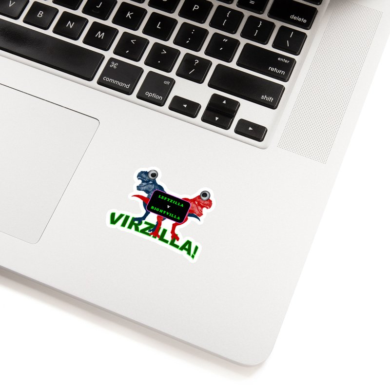 Virzilla Accessories Sticker by PGMercher  - A Pretty Good Merch Shop