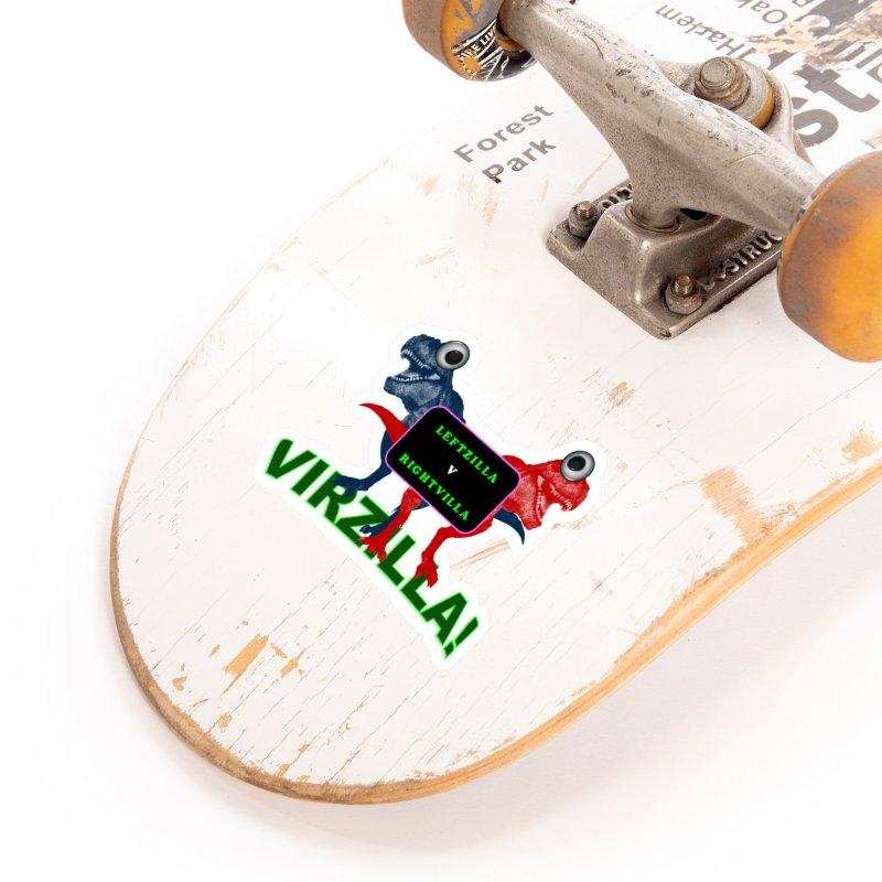 Virzilla Accessories Sticker by PGMercher  - A Pretty Good Merch Shop