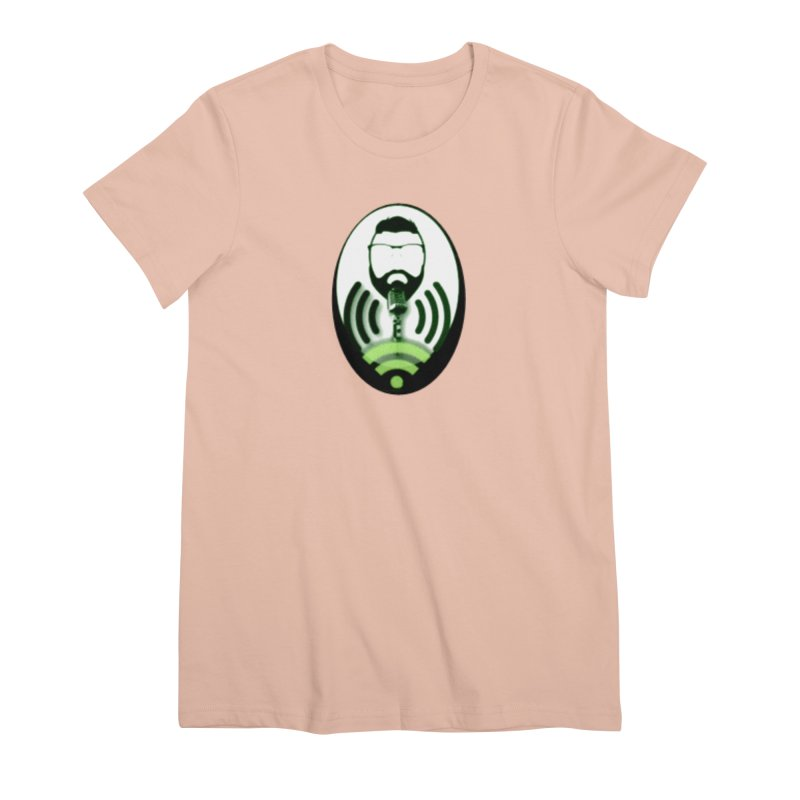PGNewser Profile Women's Premium T-Shirt by PGMercher  - A Pretty Good Merch Shop