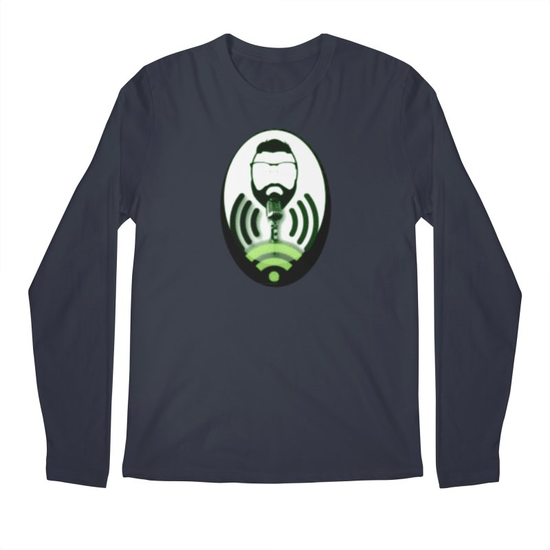 PGNewser Profile Men's Regular Longsleeve T-Shirt by PGMercher  - A Pretty Good Merch Shop