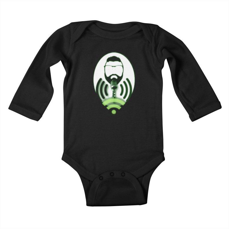 PGNewser Profile Kids Baby Longsleeve Bodysuit by PGMercher  - A Pretty Good Merch Shop