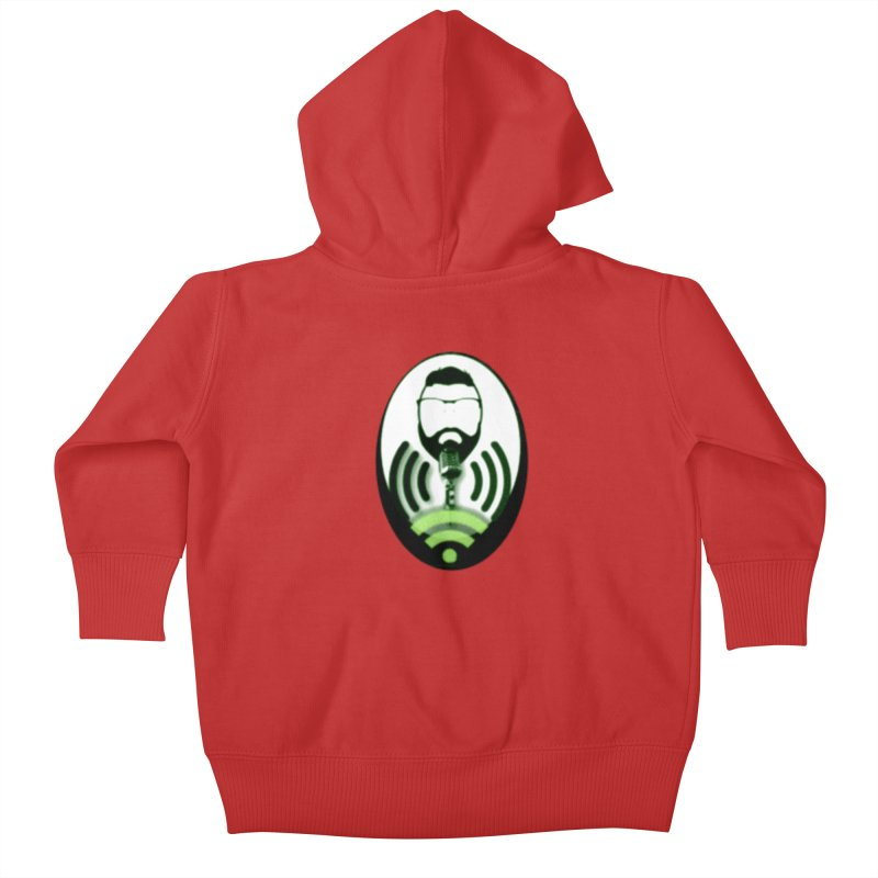 PGNewser Profile Kids Baby Zip-Up Hoody by PGMercher  - A Pretty Good Merch Shop