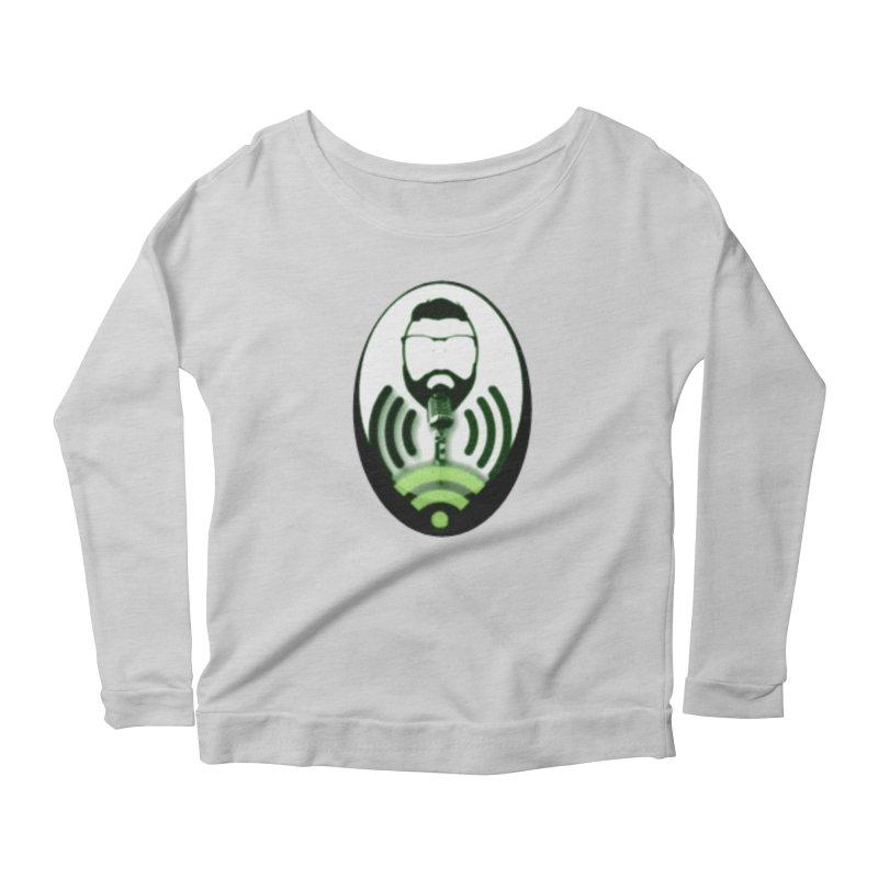 PGNewser Profile Women's Scoop Neck Longsleeve T-Shirt by PGMercher  - A Pretty Good Merch Shop