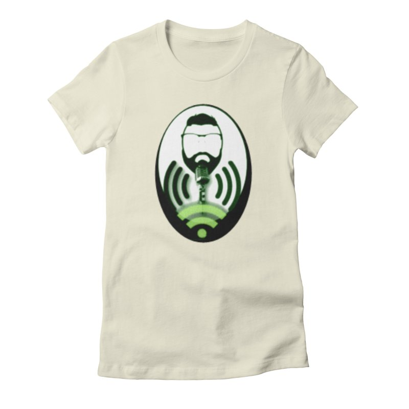 PGNewser Profile Women's Fitted T-Shirt by PGMercher  - A Pretty Good Merch Shop