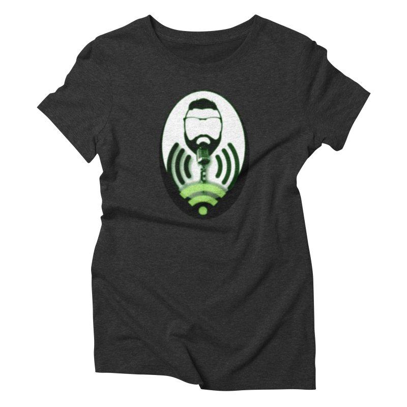 PGNewser Profile Women's Triblend T-Shirt by PGMercher  - A Pretty Good Merch Shop
