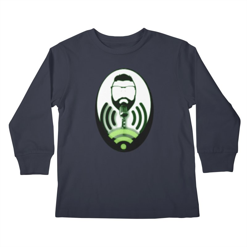 PGNewser Profile Kids Longsleeve T-Shirt by PGMercher  - A Pretty Good Merch Shop