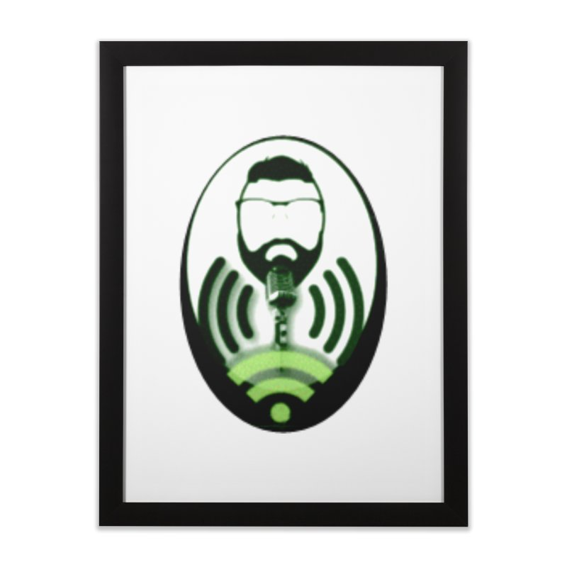 PGNewser Profile Home Framed Fine Art Print by PGMercher  - A Pretty Good Merch Shop