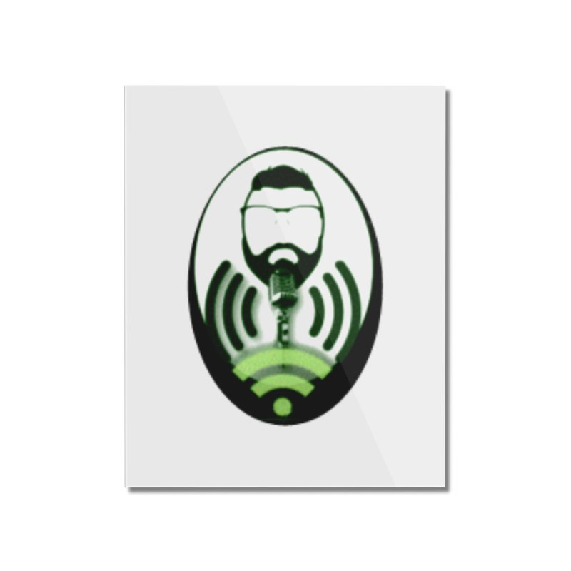 PGNewser Profile Home Mounted Acrylic Print by PGMercher  - A Pretty Good Merch Shop