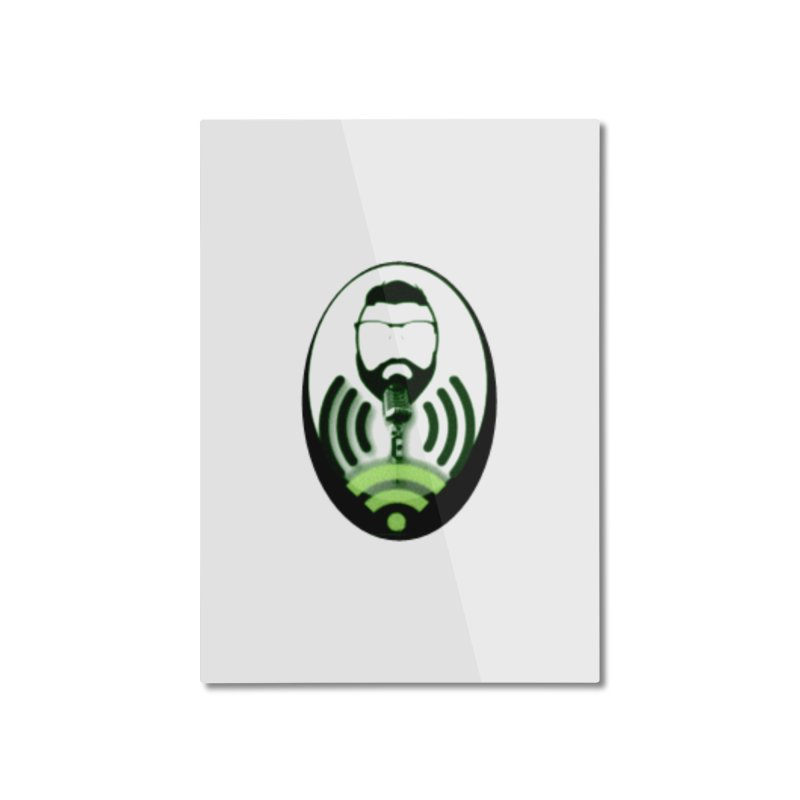 PGNewser Profile Home Mounted Aluminum Print by PGMercher  - A Pretty Good Merch Shop