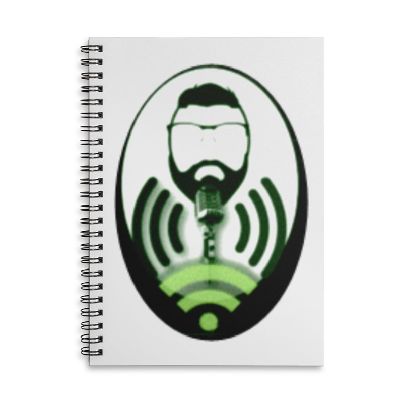 PGNewser Profile Accessories Lined Spiral Notebook by PGMercher  - A Pretty Good Merch Shop