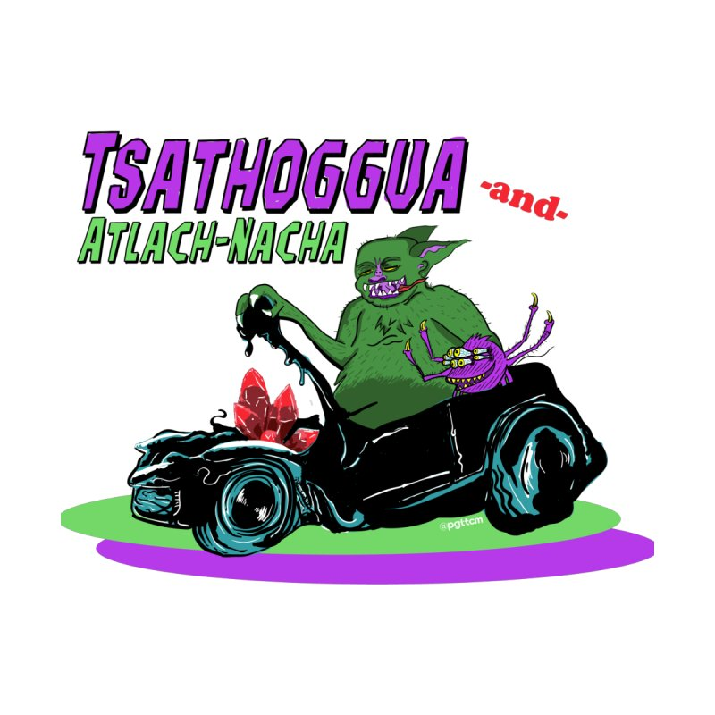 Tsathoggua & Atlach-Nacha Men's T-Shirt by pgttcm's Artist Shop